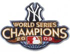 Cheap Stitched 2009 New York Yankees Baseball World Series Champions Jersey Patch
