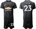 Cheap Manchester United #23 Shaw Third Soccer Club Jersey