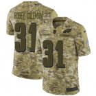 Cheap Nike Eagles #31 Nickell Robey-Coleman Camo Men's Stitched NFL Limited 2018 Salute To Service Jersey