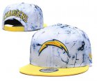 Cheap Chargers Team Logo Smoke Yellow Adjustable Hat TX
