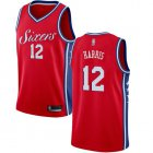 Cheap 76ers #12 Tobias Harris Red Basketball Swingman Statement Edition Jersey