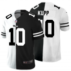 Cheap Los Angeles Rams #10 Cooper Kupp Men's Black V White Peace Split Nike Vapor Untouchable Limited NFL Jersey