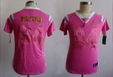 Cheap Nike Bears #34 Walter Payton Pink Women's Stitched NFL Elite Draft Him Shimmer Jersey