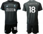 Cheap Liverpool #18 Alberto M. Third Soccer Club Jersey