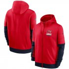 Cheap New England Patriots Nike Sideline Impact Lockup Performance Full-Zip Hoodie Red