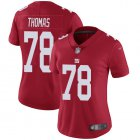 Cheap Nike Giants #78 Andrew Thomas Red Women's Stitched NFL Limited Inverted Legend Jersey
