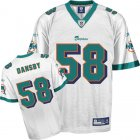 Cheap Dolphins #58 Karlos Dansby White Stitched NFL Jersey