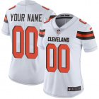 Cheap Nike Cleveland Browns Customized White Stitched Vapor Untouchable Limited Women's NFL Jersey