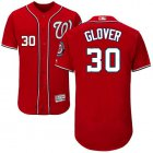 Cheap Nationals #30 Koda Glover Red Flexbase Authentic Collection Stitched MLB Jersey