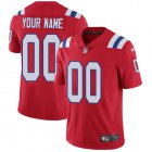Cheap Nike New England Patriots Customized Red Alternate Stitched Vapor Untouchable Limited Youth NFL Jersey