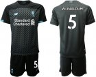 Cheap Liverpool #5 Wijnaldum Third Soccer Club Jersey