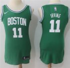 Cheap Nike Boston Celtics #11 Kyrie Irving Green Women's NBA Swingman Icon Edition Jersey