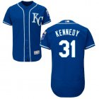 Cheap Royals #31 Ian Kennedy Royal Blue Flexbase Authentic Collection Stitched MLB Jersey