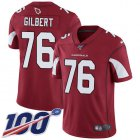 Cheap Nike Cardinals #76 Marcus Gilbert Red Team Color Youth Stitched NFL 100th Season Vapor Untouchable Limited Jersey