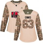 Cheap Adidas Senators #63 Tyler Ennis Camo Authentic 2017 Veterans Day Women's Stitched NHL Jersey