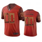 Cheap San Francisco 49ers Custom Orange Vapor Limited City Edition NFL Jersey