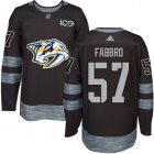 Cheap Adidas Predators #57 Dante Fabbro Black 1917-2017 100th Anniversary Stitched NHL Jersey