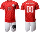 Cheap Egypt Personalized Home Soccer Country Jersey