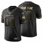Cheap Seattle Seahawks Custom Men's Nike Black Golden Limited NFL 100 Jersey