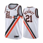 Cheap Nike Clippers #21 Patrick Beverley White2019-20 Classic Edition Stitched NBA Jersey