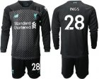 Cheap Liverpool #28 Ings Third Long Sleeves Soccer Club Jersey