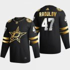 Cheap Dallas Stars #47 Alexander Radulov Men's Adidas Black Golden Edition Limited Stitched NHL Jersey