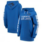 Cheap Toronto Blue Jays G-III 4Her by Carl Banks Women's Extra Innings Pullover Hoodie Royal