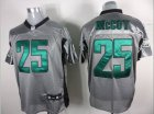Cheap Eagles #25 LeSean McCoy Grey Shadow Stitched NFL Jersey