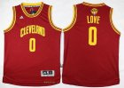 Cheap Youth Cleveland Cavaliers #0 Kevin Love Red 2016 The NBA Finals Patch Jersey