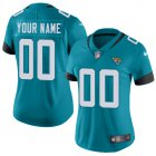 Cheap Nike Jacksonville Jaguars Customized Teal Green Team Color Stitched Vapor Untouchable Limited Women's NFL Jersey