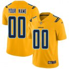Cheap Nike Los Angeles Chargers Customized Gold Men's Stitched NFL Limited Inverted Legend Jersey