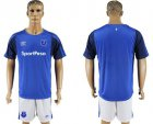 Cheap Everton Blank Home Soccer Club Jersey