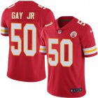 Cheap Nike Chiefs #50 Willie Gay Jr. Red Team Color Youth Stitched NFL Vapor Untouchable Limited Jersey