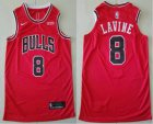 Cheap Men's Chicago Bulls #8 Zach LaVine Red 2019 Nike Authentic Stitched NBA Jersey With The Sponsor Logo