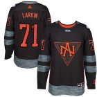 Cheap Team North America #71 Dylan Larkin Black 2016 World Cup Stitched NHL Jersey