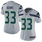 Cheap Nike Seahawks #32 Chris Carson Green Women's Stitched NFL Limited Rush Jersey