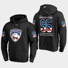 Cheap Panthers #95 Henrik Borgstrom NHL Banner Wave Usa Flag Black Hoodie