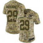 Cheap Nike Giants #29 Xavier McKinney Camo Women's Stitched NFL Limited 2018 Salute To Service Jersey