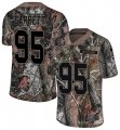 Cheap Nike Browns #95 Myles Garrett Camo Men's Stitched NFL Limited Rush Realtree Jersey