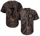 Cheap Astros #7 Craig Biggio Camo Realtree Collection Cool Base Stitched Youth MLB Jersey