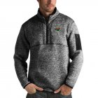 Cheap Minnesota Wild Antigua Fortune Quarter-Zip Pullover Jacket Charcoal