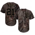 Cheap Giants #21 Stephen Vogt Camo Realtree Collection Cool Base Stitched MLB Jersey