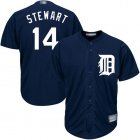 Cheap Tigers #14 Christin Stewart Navy Blue Cool Base Stitched Youth MLB Jersey