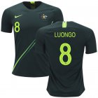 Cheap Australia #8 Luongo Away Soccer Country Jersey