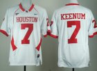 Cheap Houston Cougars #7 Case Keenum White Jersey