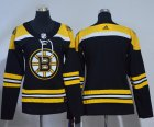 Cheap Adidas Bruins Blank Black Home Authentic Women's Stitched NHL Jersey
