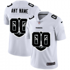 Cheap Las Vegas Raiders Custom White Men's Nike Team Logo Dual Overlap Limited NFL Jersey