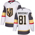 Cheap Adidas Golden Knights #81 Jonathan Marchessault White Road Authentic Stitched Youth NHL Jersey