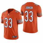 Cheap Men's Chicago Bears #33 Jaylon Johnson Orange Vapor Limited 2020 NFL Draft Jersey