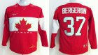 Cheap Team Canada 2014 Olympic #37 Patrice Bergeron Red Stitched Youth NHL Jersey